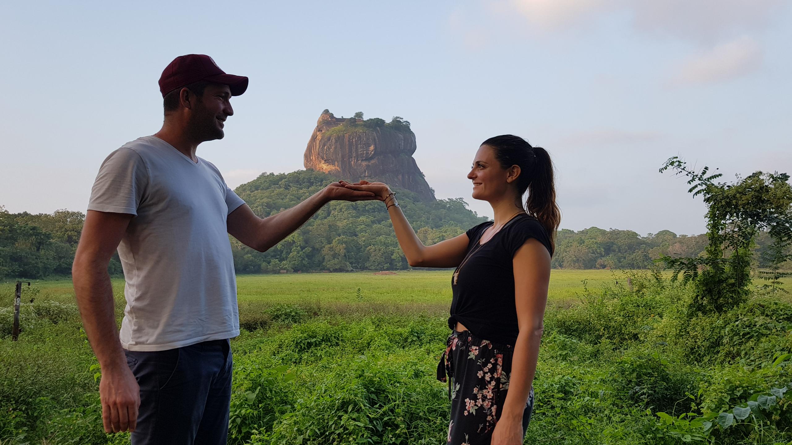 SRI LANKA Stop N°1: Visite de Sigiriya et sa région