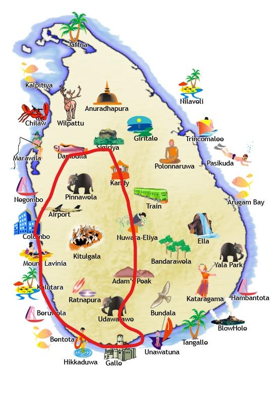 Voyage au Sri Lanka:  Itinéraire road-trip de 10 jours