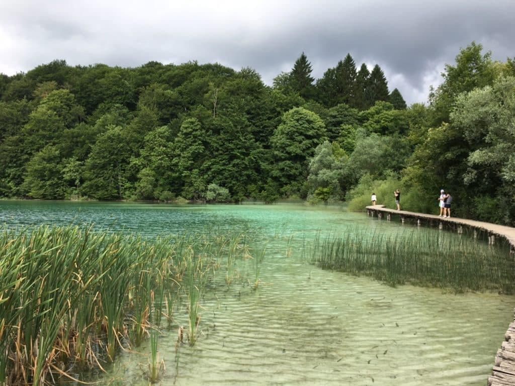 Le parc national des lacs de Plitvice en Croatie