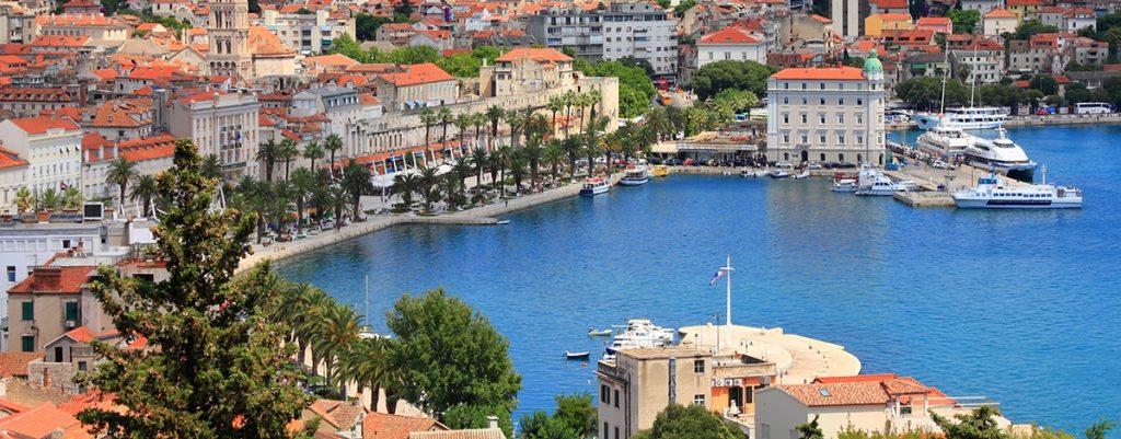 visite centre historique split croatie