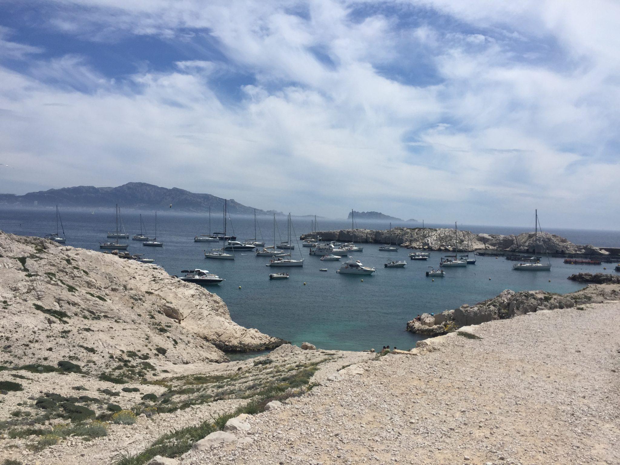 Visite de l'île du Frioul à Marseille