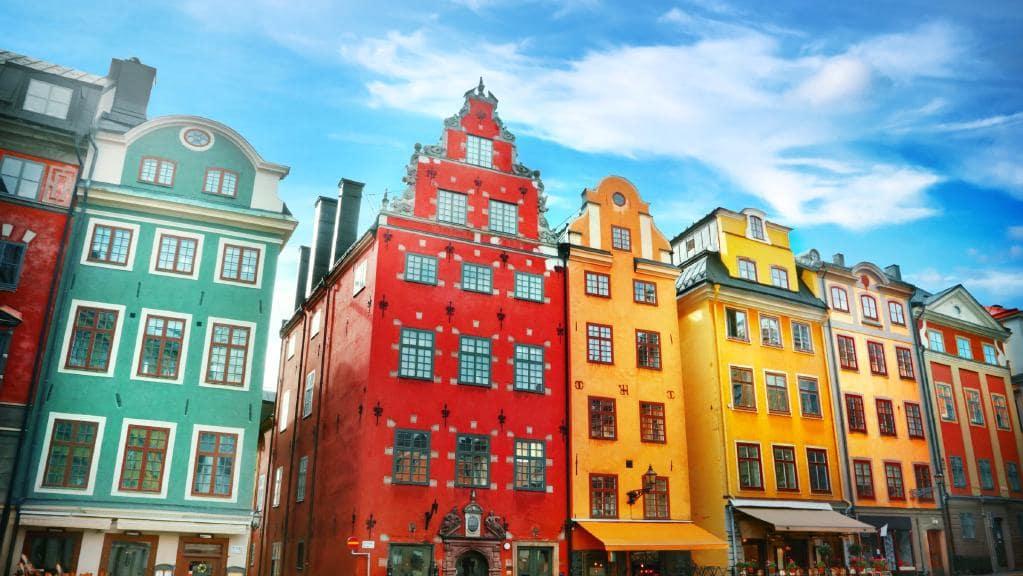 STOCKHOLM: La vieille ville de Gamla Stan