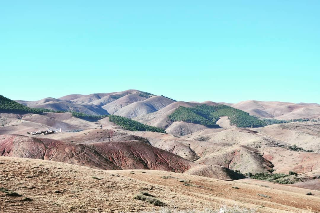 Voyage à Marrakech: le désert d'Agafay