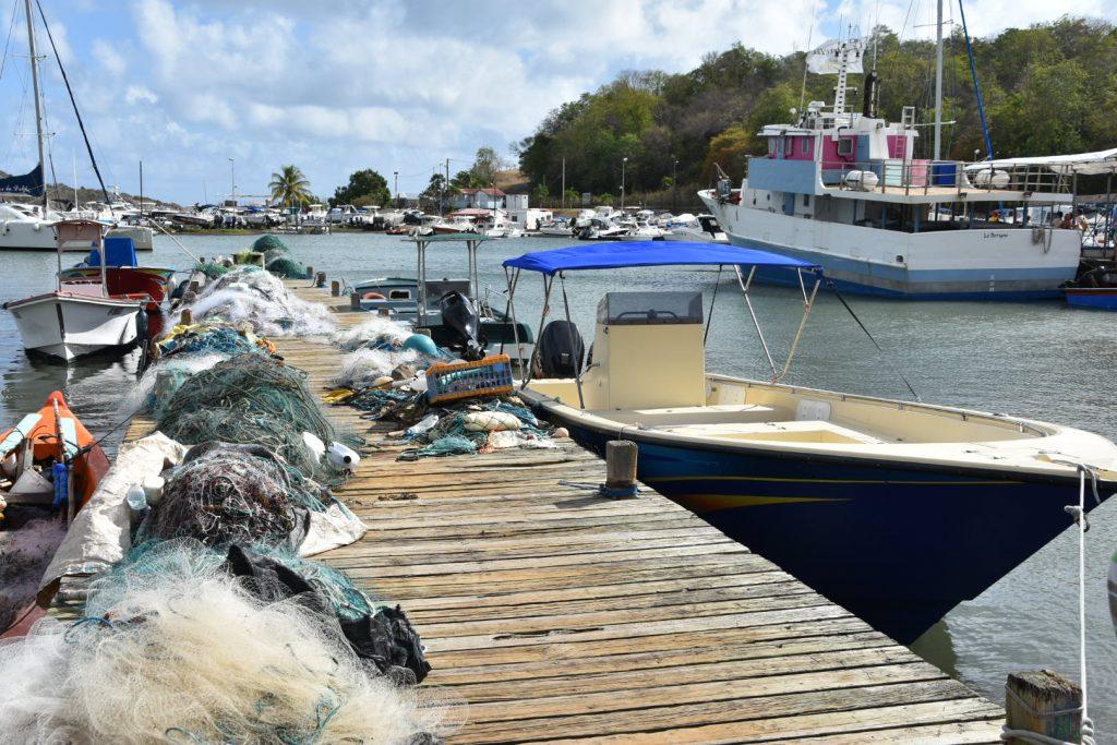 Les fonds blancs et l'îlet Chancel en Martinique