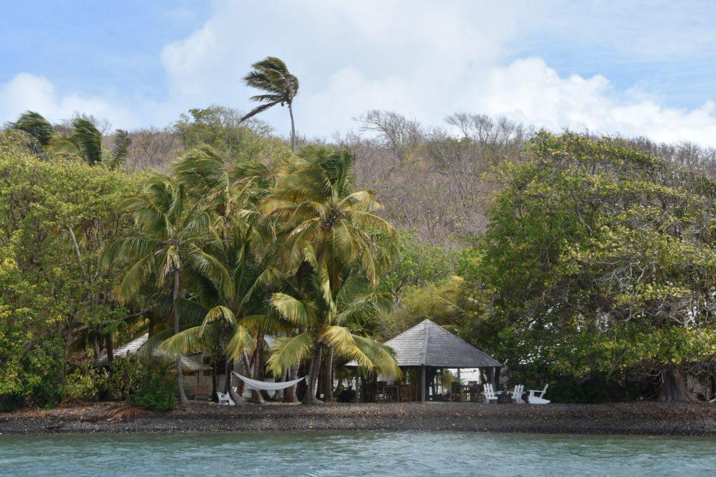 L'îlet chancel et les fonds blancs en Martinique