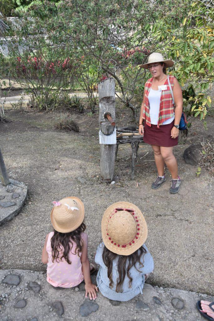 visite guidée de la savane des esclaves en Martinique
