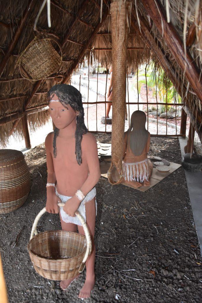 visite de la savane des esclaves en Martinique village Kalinago