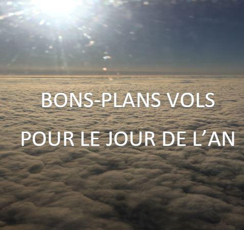 Bons-plans avion pour le jour de l'an 2019 / 2020