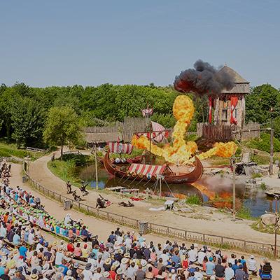 puy du fou parc d'attractions france