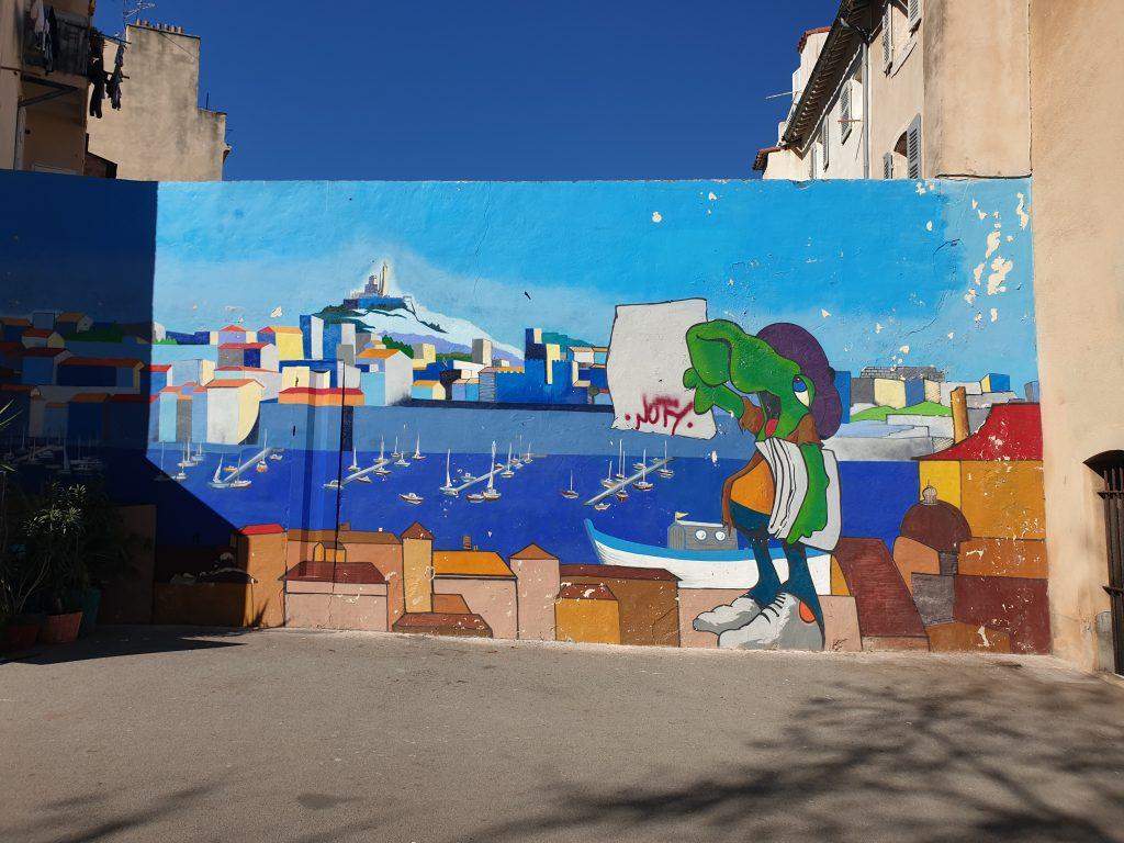 visiter le panier Marseille street art