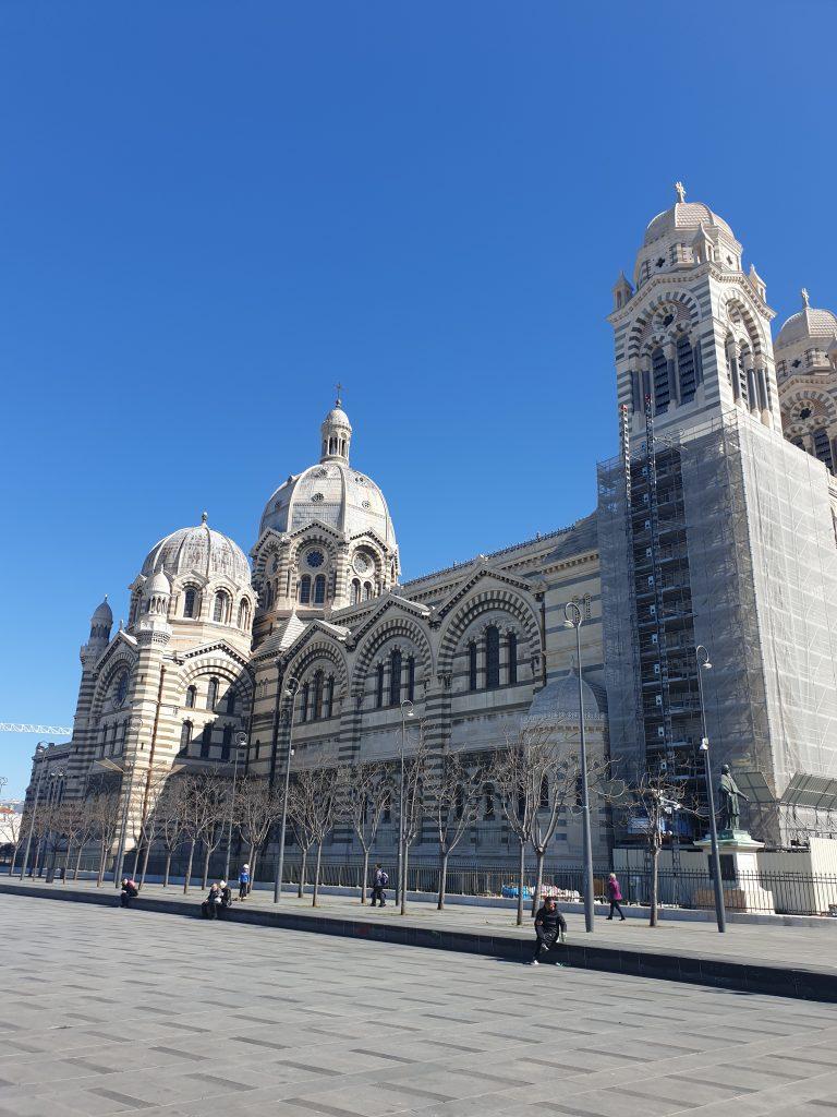 visiter le panier Marseille cathédrale de la major