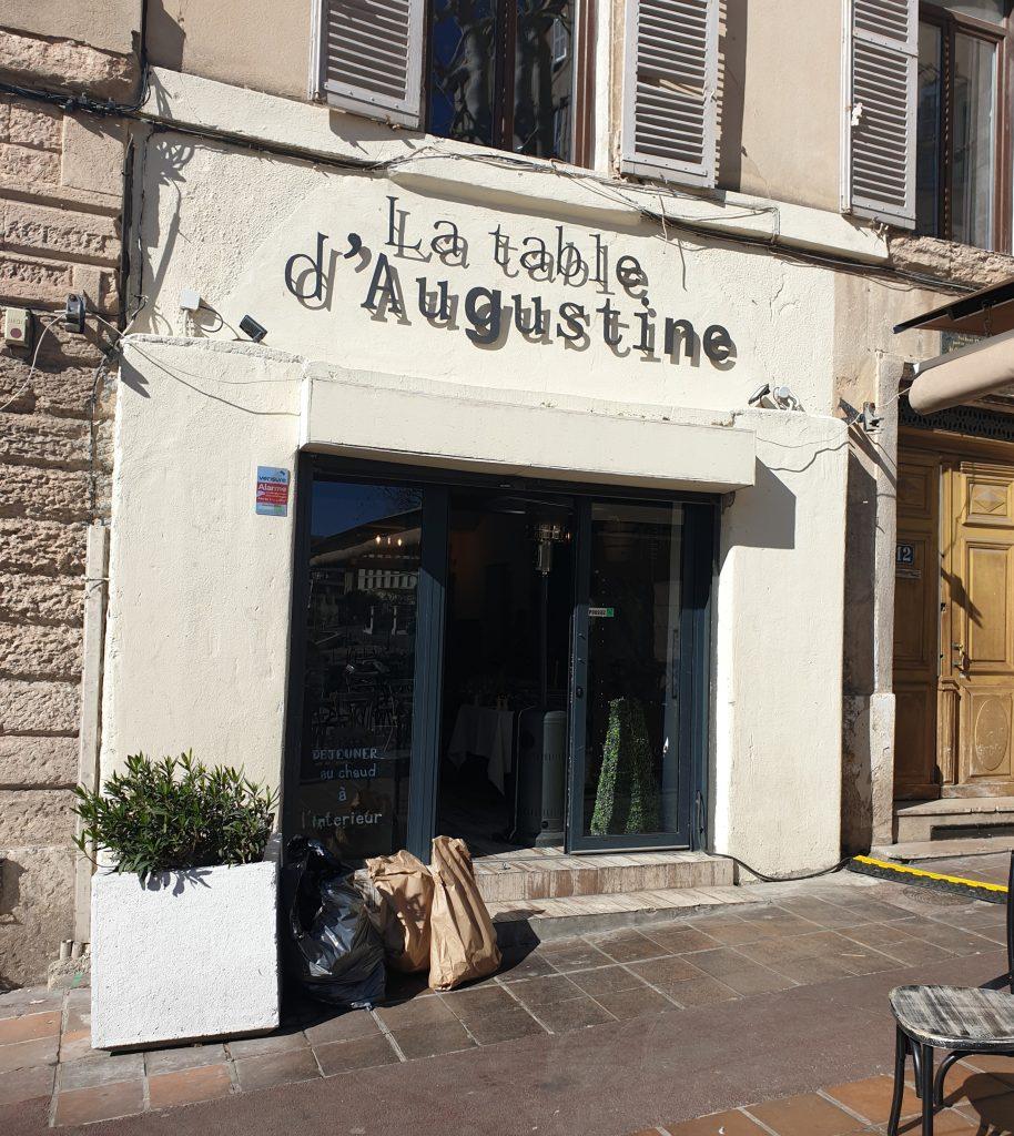 visiter le panier Marseille la table d'Augustine