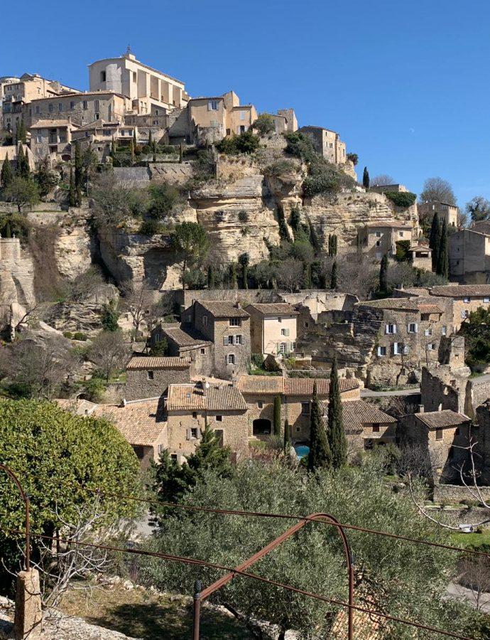 Visite du village de Gordes dans le Vaucluse