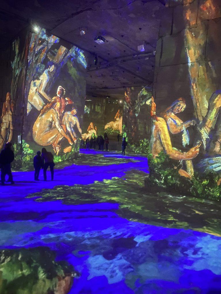 exposition Cézanne les carrières de lumière